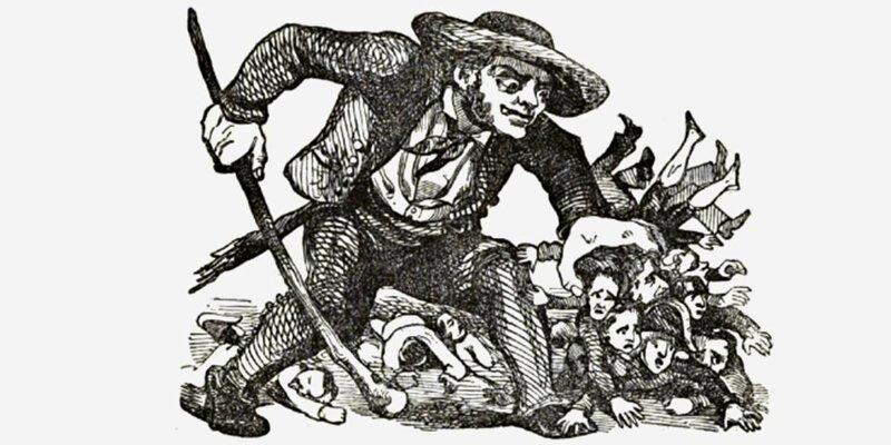 Карикатура на «дядюшку Каморру»