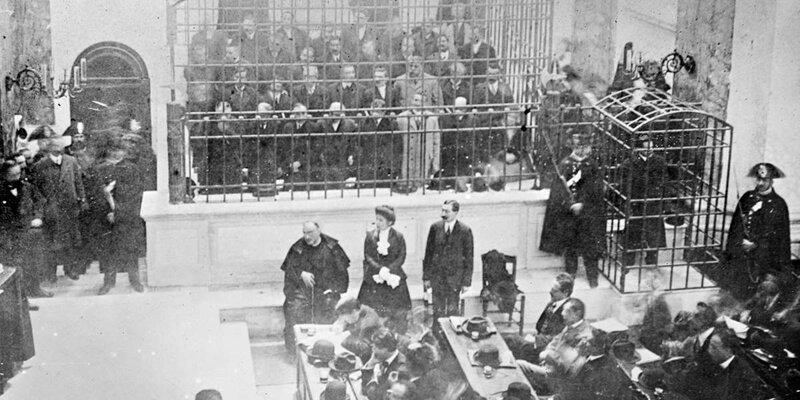 Суд над Каморрой, 1911 год
