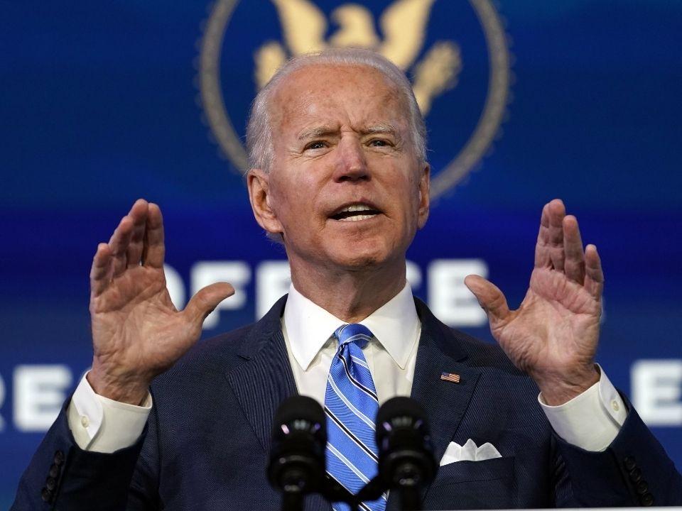 Избранный президент США Джозеф Байден. Фото: Matt Slocum, AP/TASS