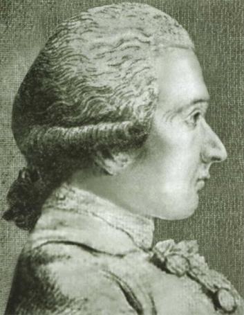 Донасьен Альфонс Франсуа де Сад в возрасте 17 лет. Единственный сохранившийся прижизненный портрет работы Ван Лоо.