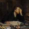Рассказывается о восприятии писателя коллегами и современниками