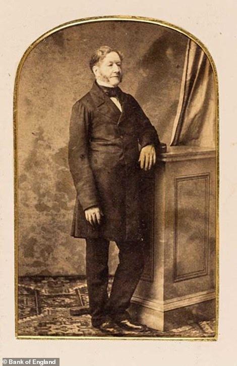 Бывший управляющий Банка Англии Шеффилд Нив (1857-1859), западно-индийский купец и сын рабовладельца