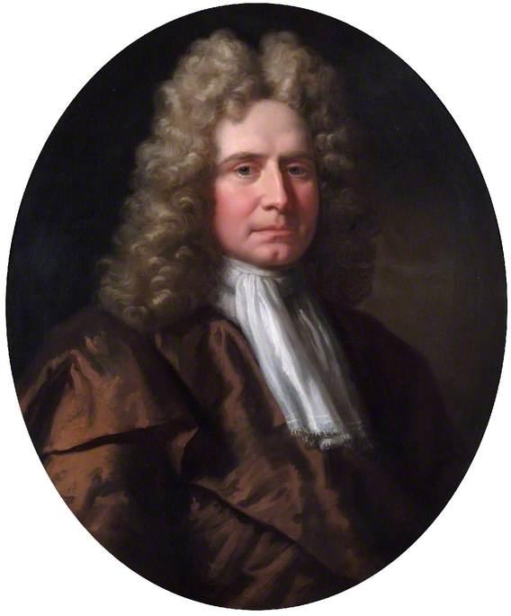 сэр Хамфри Морис, управляющий Банком в период с 1727 по 1729 год, владел большим количеством рабовладельческих судов, чем кто-либо еще в стране. Портрет кисти Кнеллера