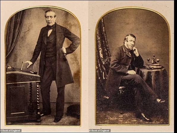 Альфред Латам (слева, 1861-1863), у которого было 402 раба и три поместья на Ямайке, Невисе и Тобаго) и Бенджамин Бак Грин (справа, 1873-1875, менеджер плантации в Сент-Китс и наследник рабского состояния)
