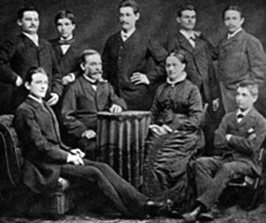 Семья Генриха Юнкерса