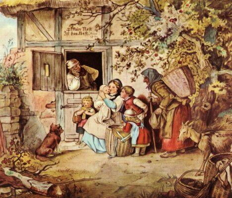 """""""Моё гнездо самое лучшее"""". Романтизация образа жизни гроссбауэров, 1869"""