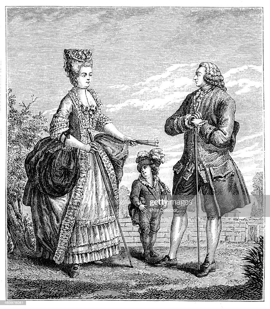 Семья среднего класса, 1885