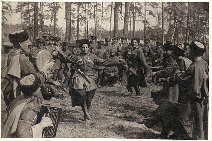 Терские казаки. 1936 г.